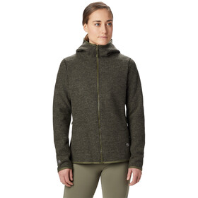 Mountain Hardwear Hatcher Veste à capuche Zip Femme, dark army